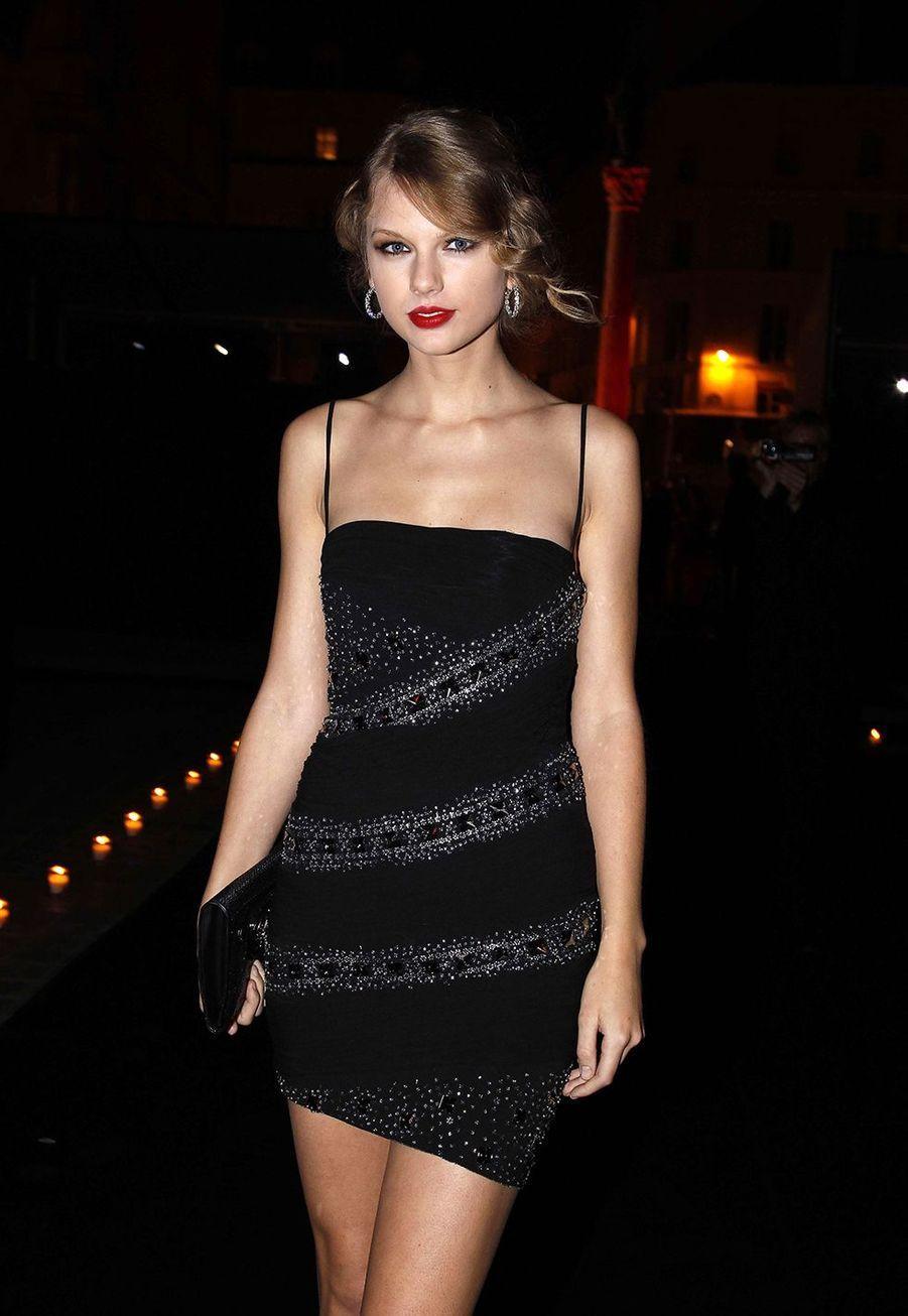 Taylor Swift à un événement Roberto Cavalli à Paris le 29 septembre 2010