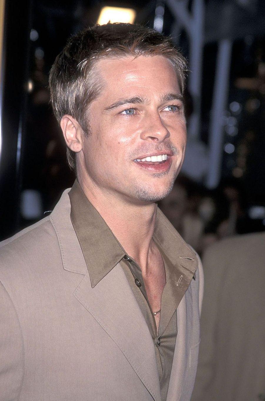 Brad Pitt en 2001.