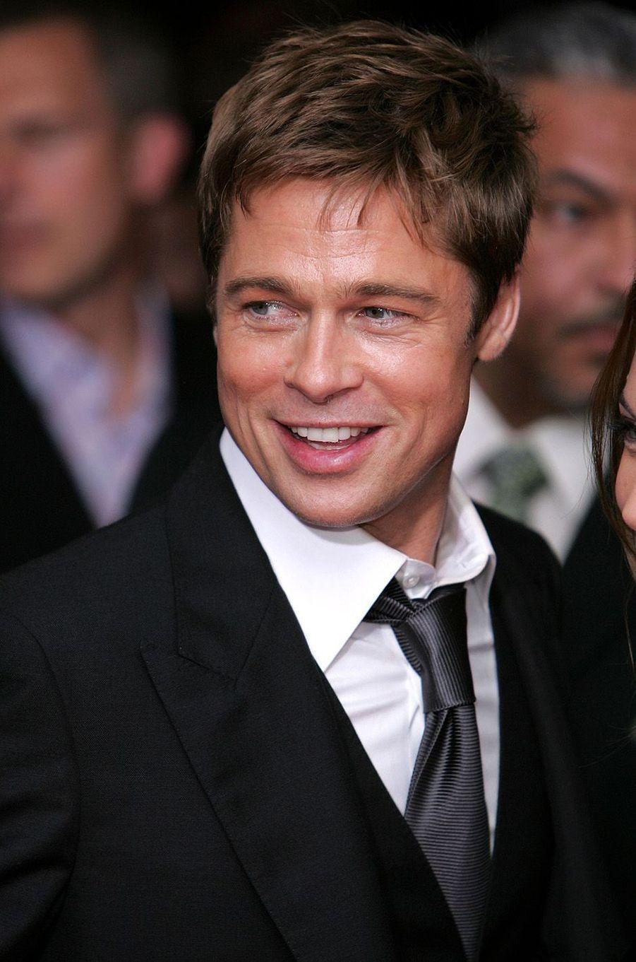 Brad Pitt en 2007.