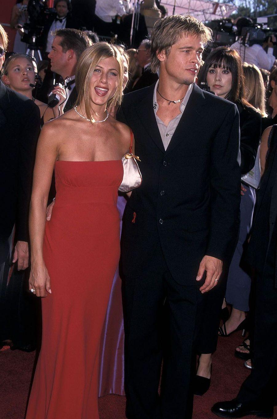 Brad Pitt et Jennifer Aniston, un couple mythique du début des années 2000.