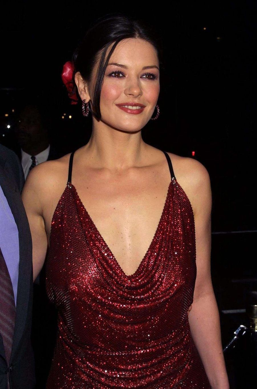 Catherine Zeta-Jones en 2000.