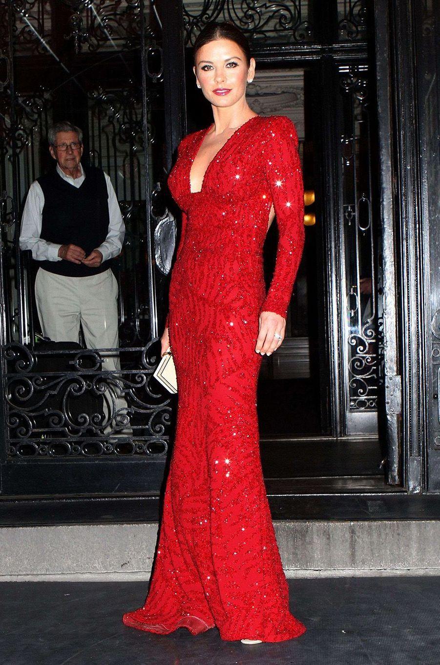 Catherine Zeta-Jones en 2011.