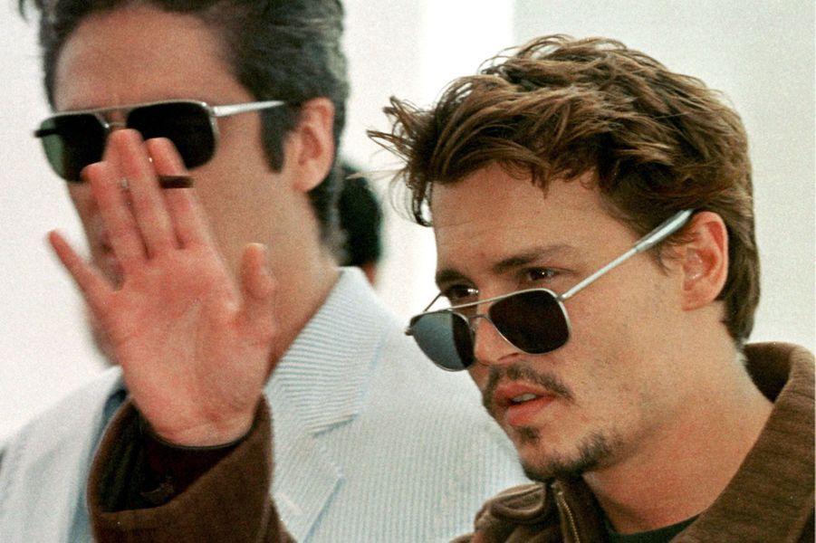 Johnny Depp en 1998