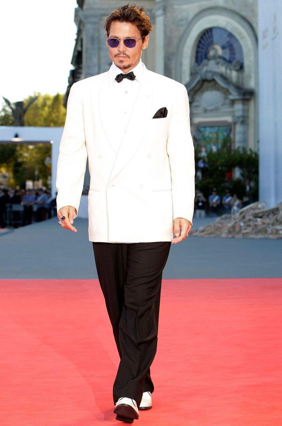 Johnny Depp en 2007