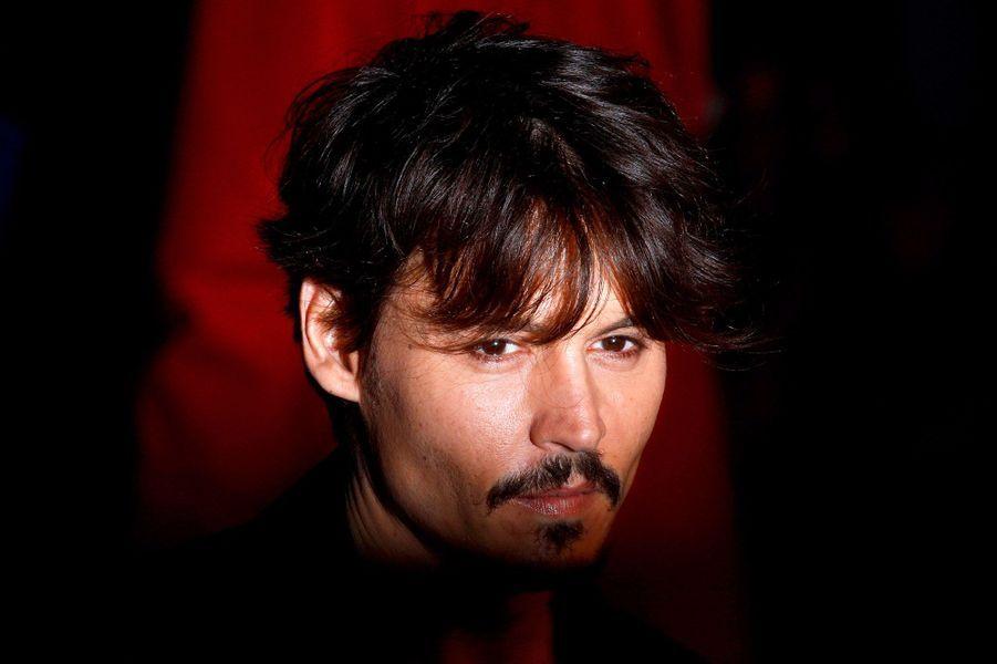 Johnny Depp en 2008