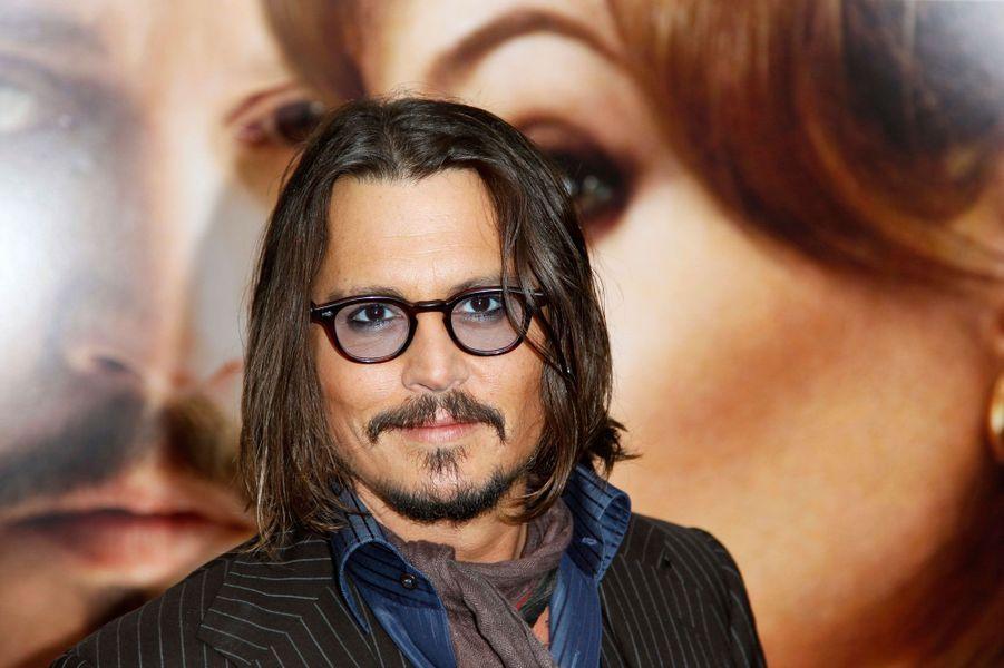 Johnny Depp en 2010