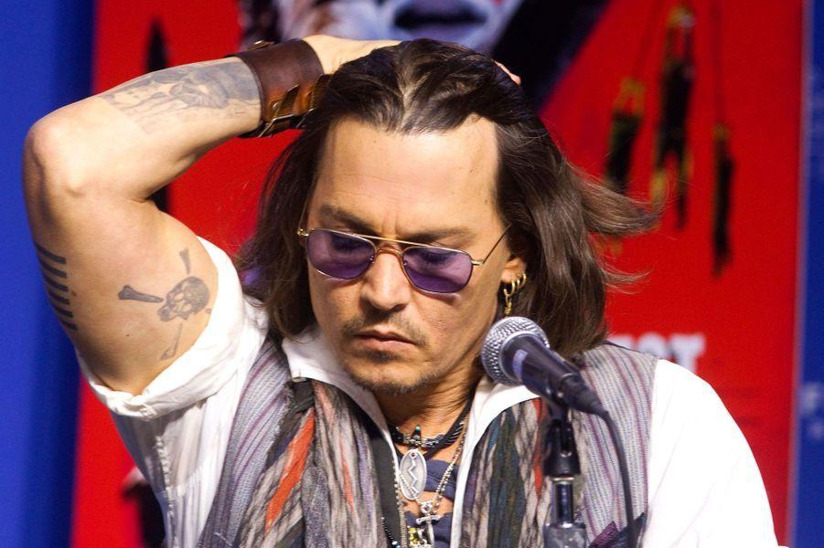 Johnny Depp en 2012