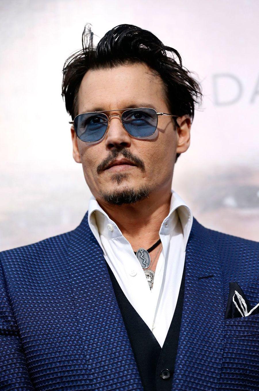 Johnny Depp en 2014