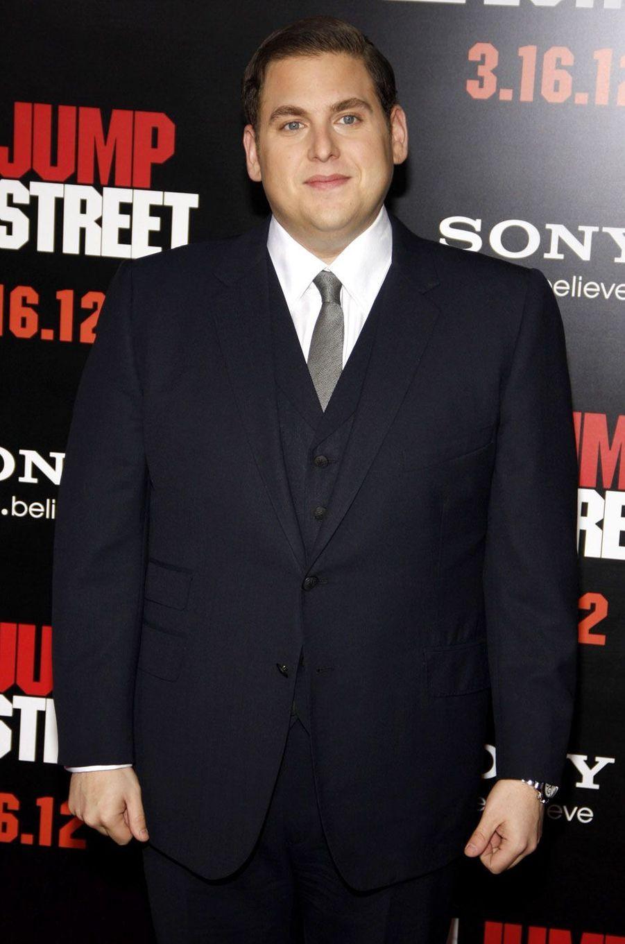 Jonah Hill en 2012