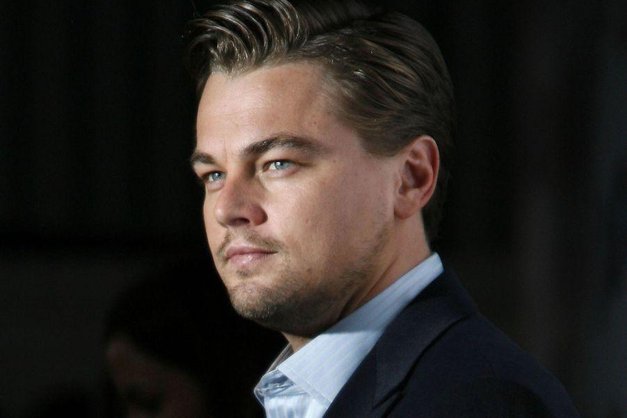 Leonardo DiCaprio en 2008.