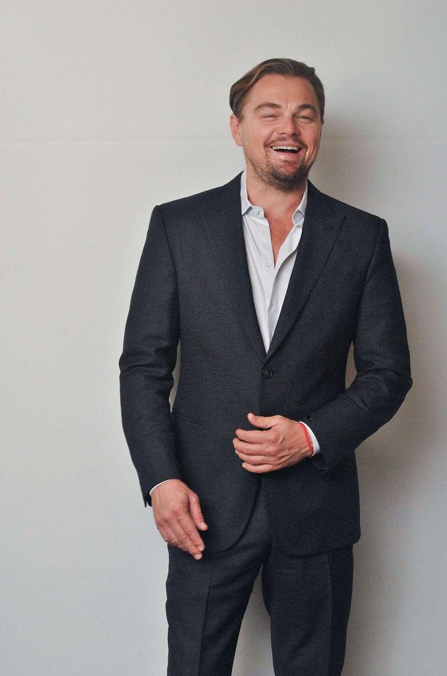 Leonardo DiCaprio en novembre 2015.