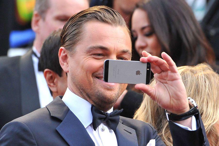 Leonardo DiCaprio à la cérémonie des Oscars 2014.