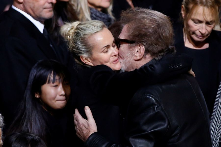 L'hommage À Johnny Hallyday En Photos 26