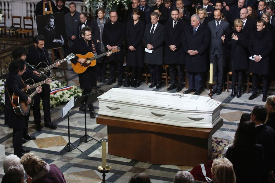 L'hommage À Johnny Hallyday En Photos 27