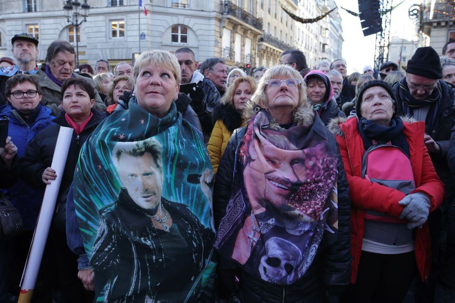 L'hommage À Johnny Hallyday En Photos 4