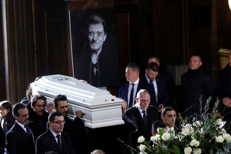 L'hommage À Johnny Hallyday En Photos 5