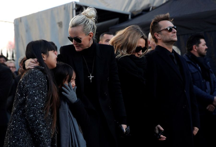 L'hommage À Johnny Hallyday En Photos 7