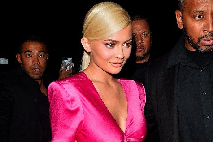Kylie Jenner à sa soirée d'anniversaire le 9 août 2018