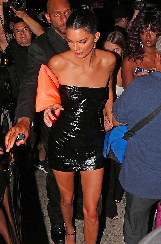 Kendall Jenner à la soirée d'anniversaire de Kylie Jenner le 9 août