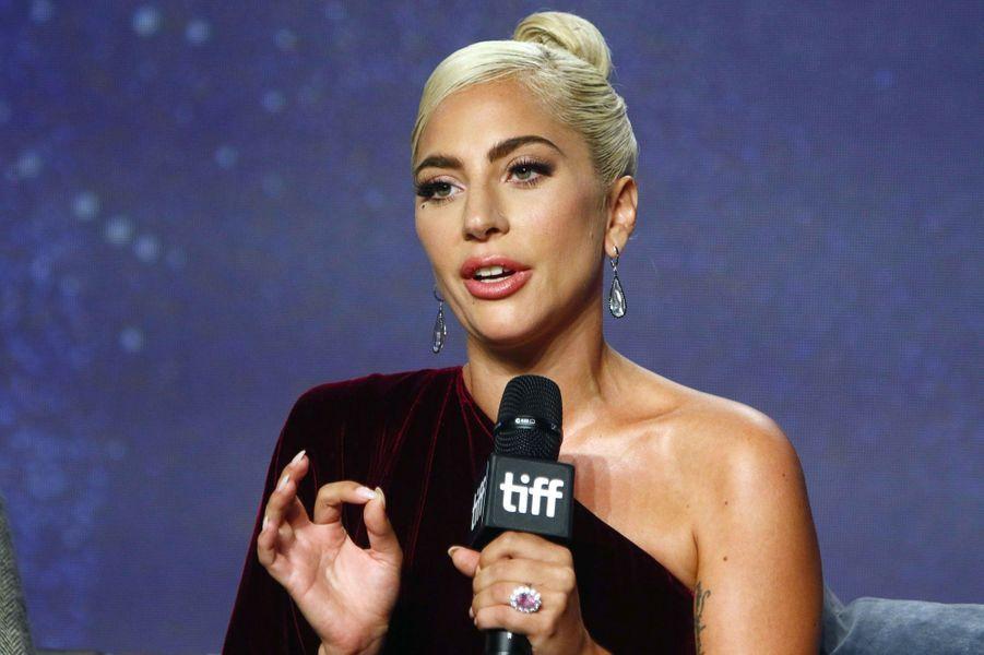 Lady Gaga à Toronto le 9 septembre 2018