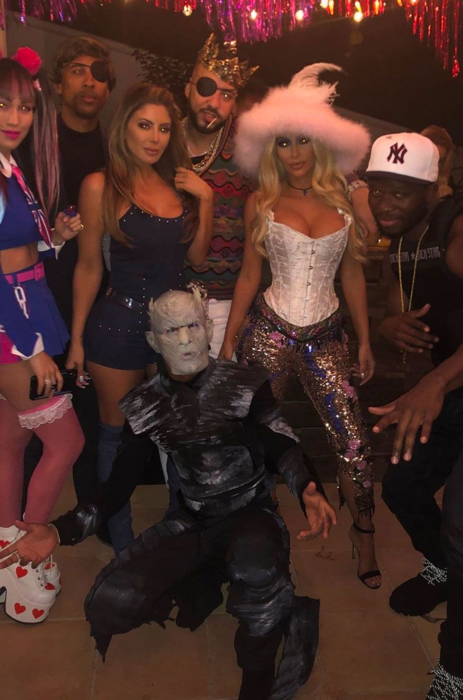 Kim Kardashian et des amis