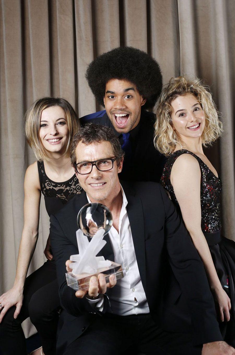 L'équipe de la comedie musicale Resiste, prix de la meilleure comedie musicale