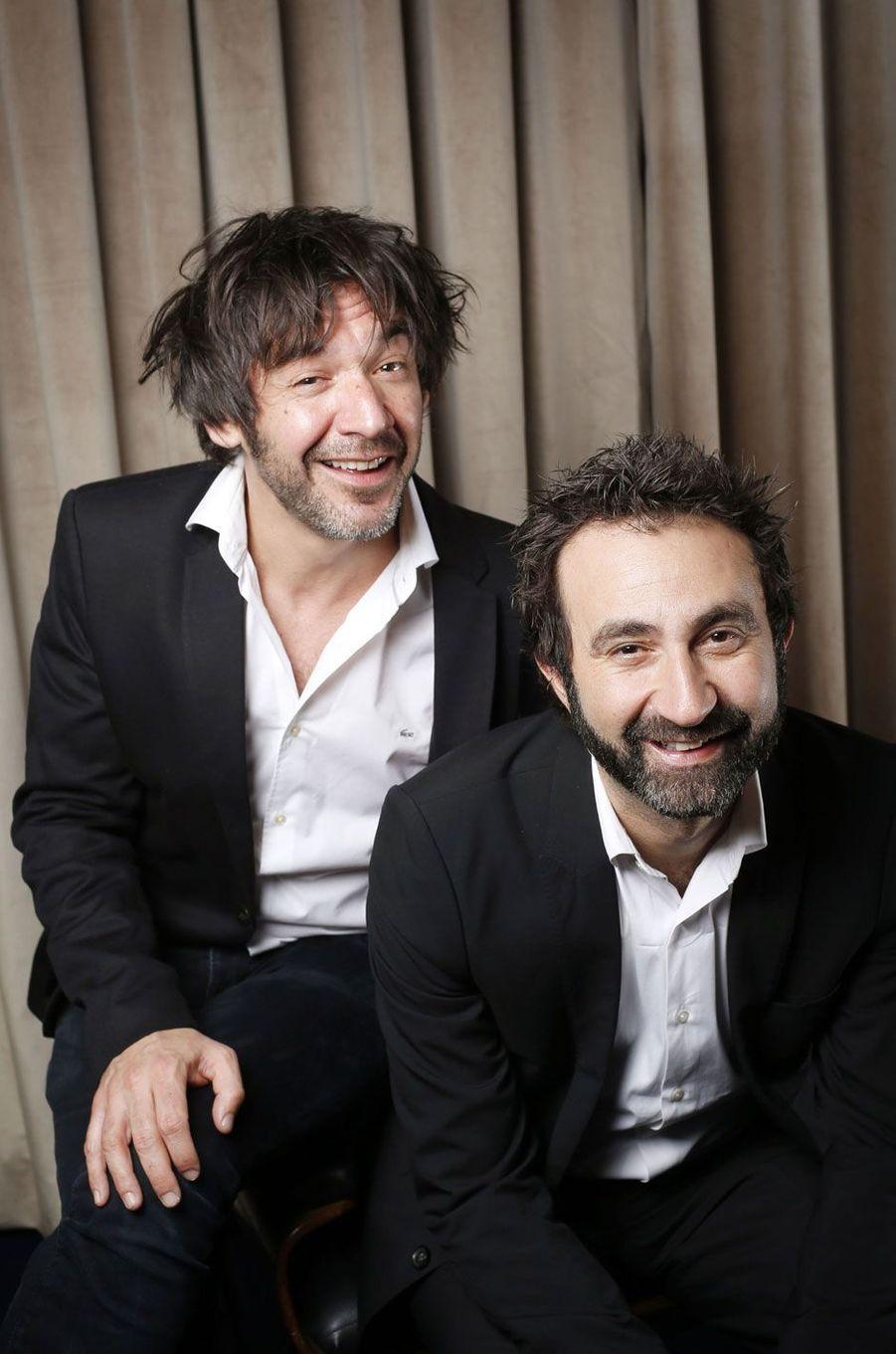 Thomas VDB et Mathieu Madenian.
