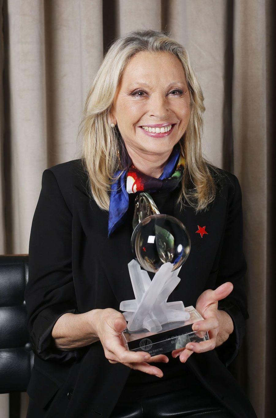 Véronique Sanson qui a reçu le Globe d'honneur.