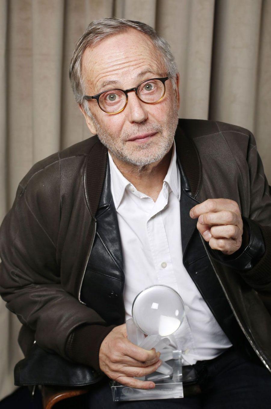 Fabrice Luchini : prix de la meilleure pièce de théâtre.