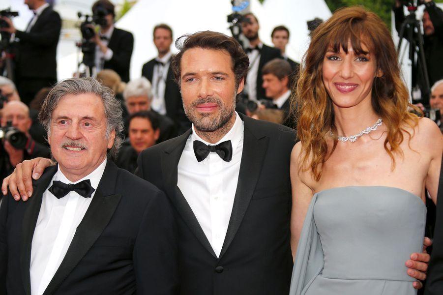 Daniel Auteuil, Nicolas Bedos et Doria Tillier.