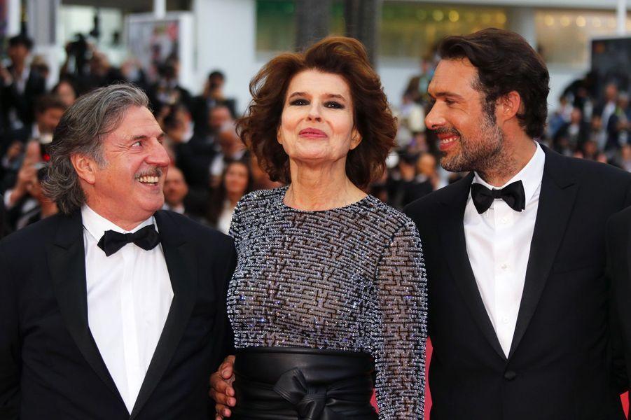 Daniel Auteuil, Fanny Ardant, Nicolas Bedos.