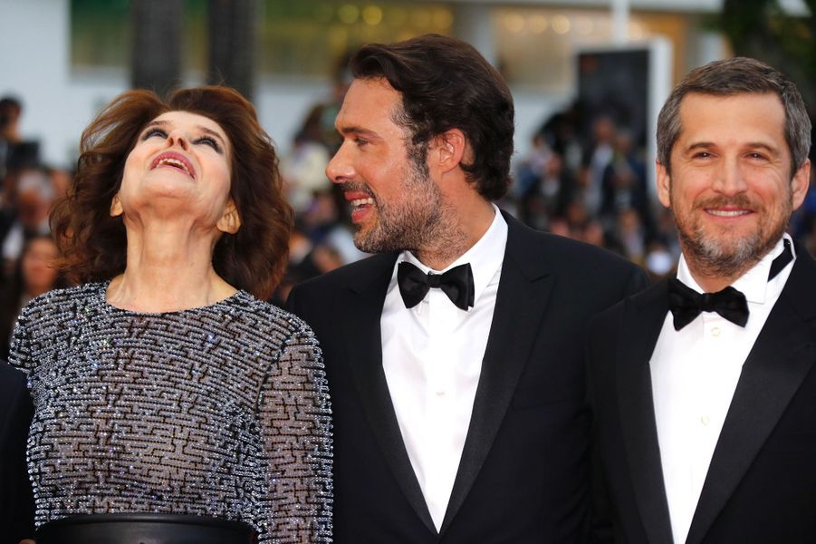 Fanny Ardant, Nicolas Bedos, Guillaume Canet.