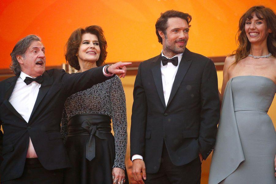 Daniel Auteuil, Fanny Ardant, Nicolas Bedos, Doria Tillier.