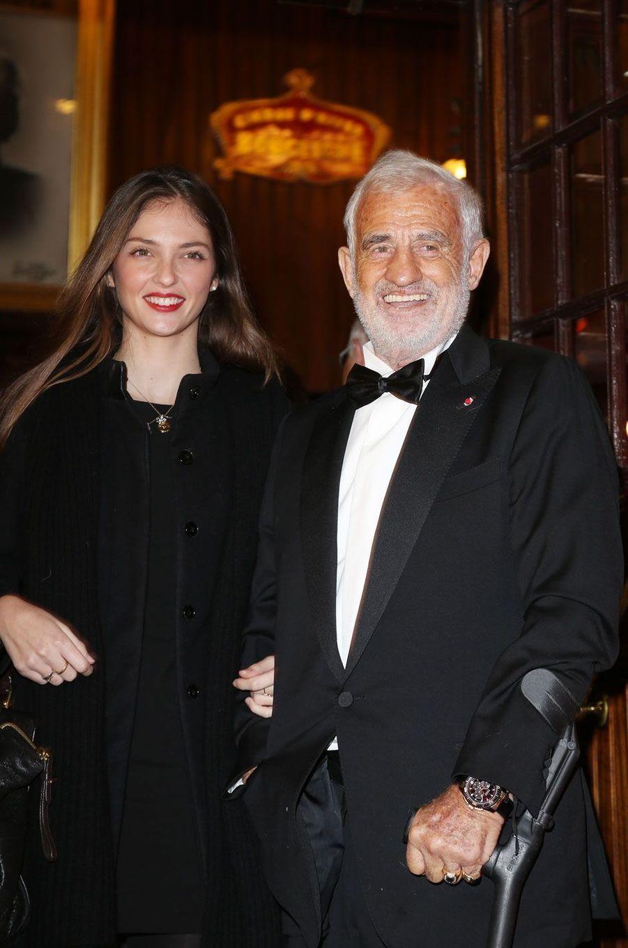 Annabelle Belmondo et Jean-Paul Belmondo