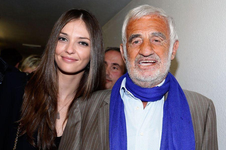 Annabelle et Jean-Paul Belmondo en 2013