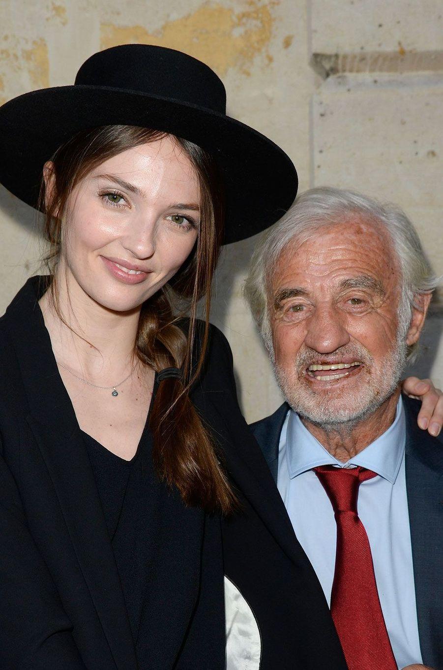 Annabelle et Jean-Paul Belmondo en 2015