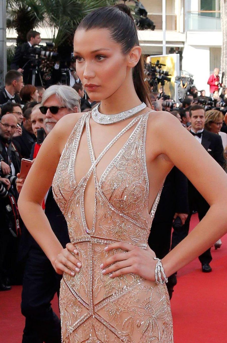 Balla Hadid au festival de Cannes 2016