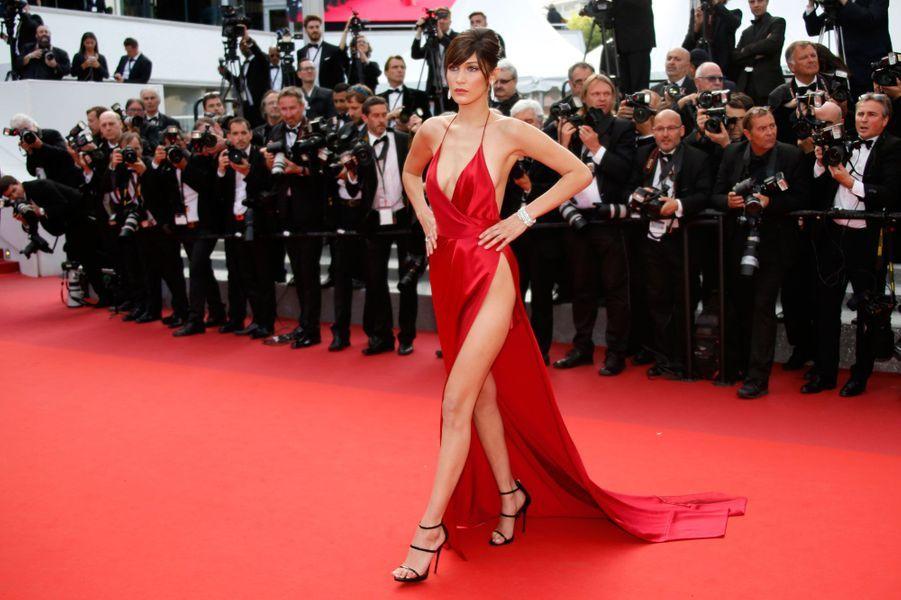 Bella Hadid au Festival de Cannes 2016