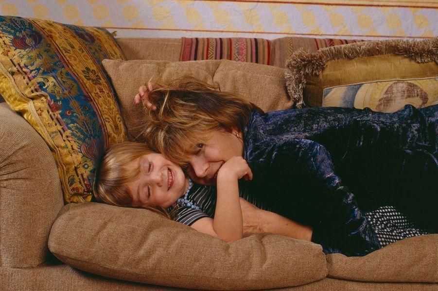 Billie Lourd et sa mère