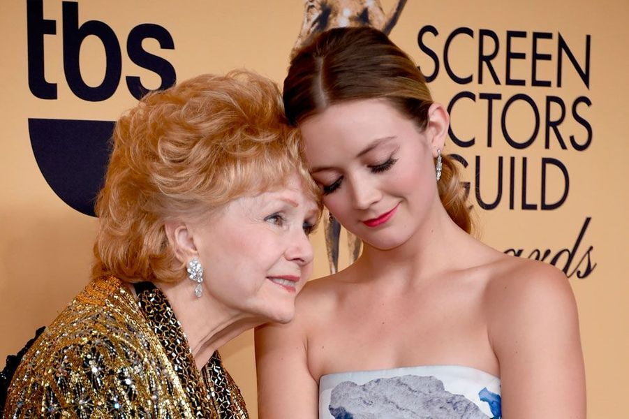 Billie Lourd et Debbie Reynolds /AFP