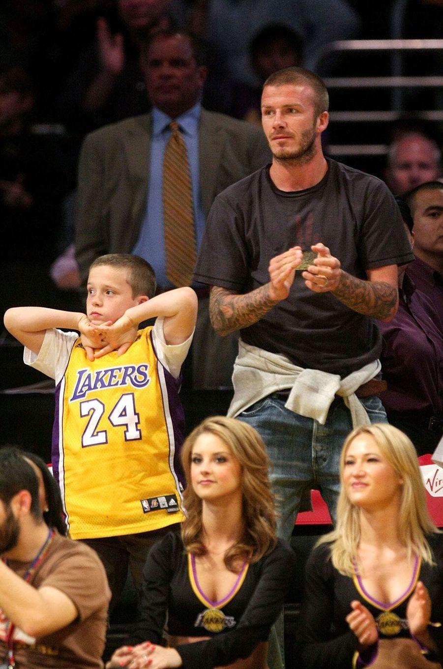 Brooklyn Beckham en 2008