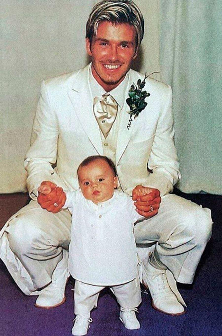 Brooklyn Beckham et son père, David
