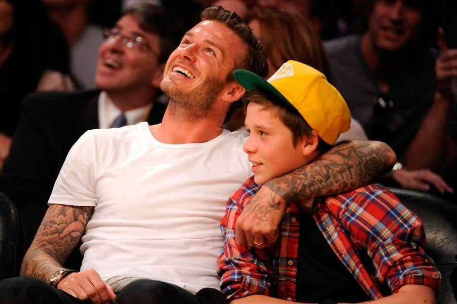 Brooklyn Beckham en 2012