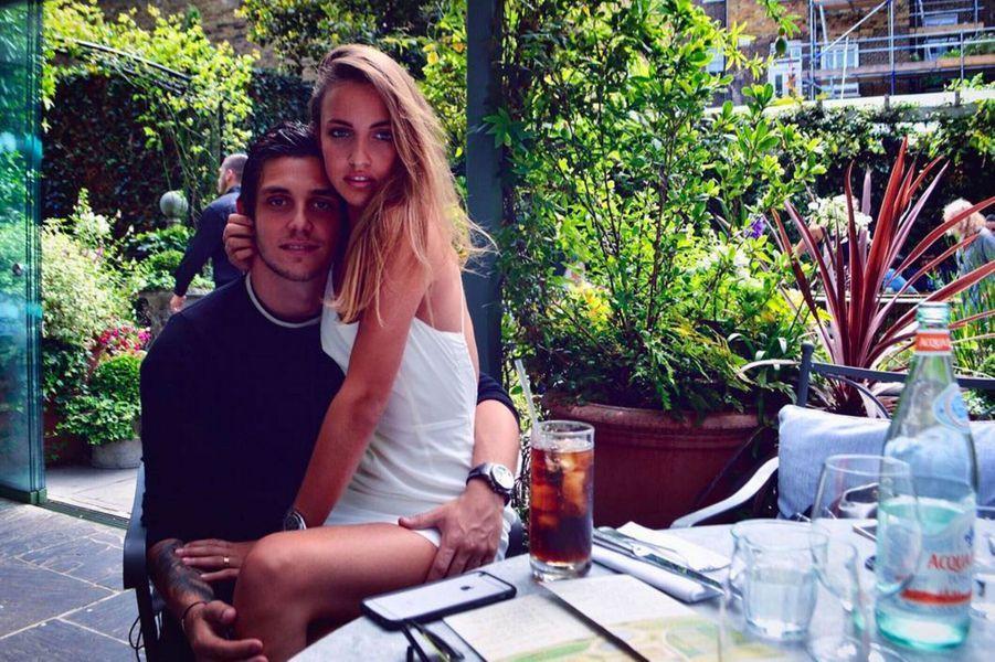 Carla Ginola et son copain Victor