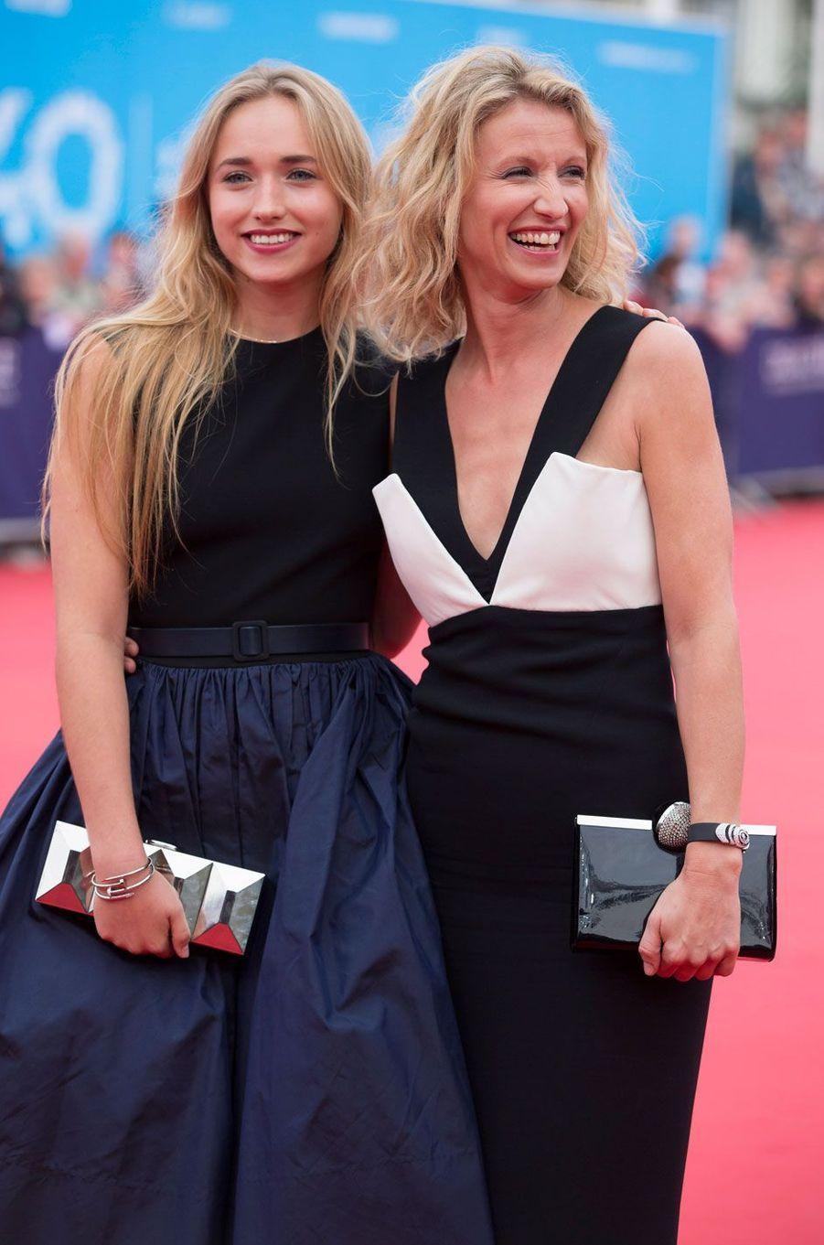 Chloé Jouannet et sa mère Alexandra Lamy