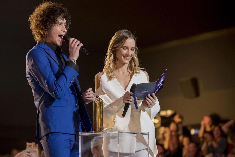 Ilona Smet et Julian Perretta à Cannes.