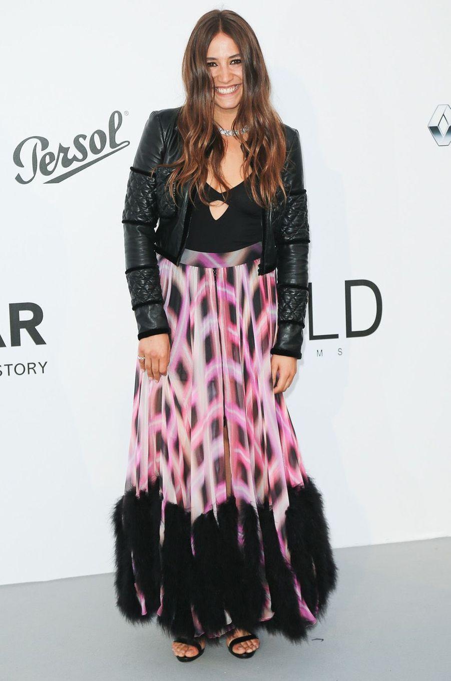 Izïa Higelin au festival de Cannes, le 25 mai 2017.