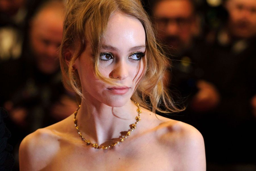 Lily-Rose Depp au Festival de Cannes