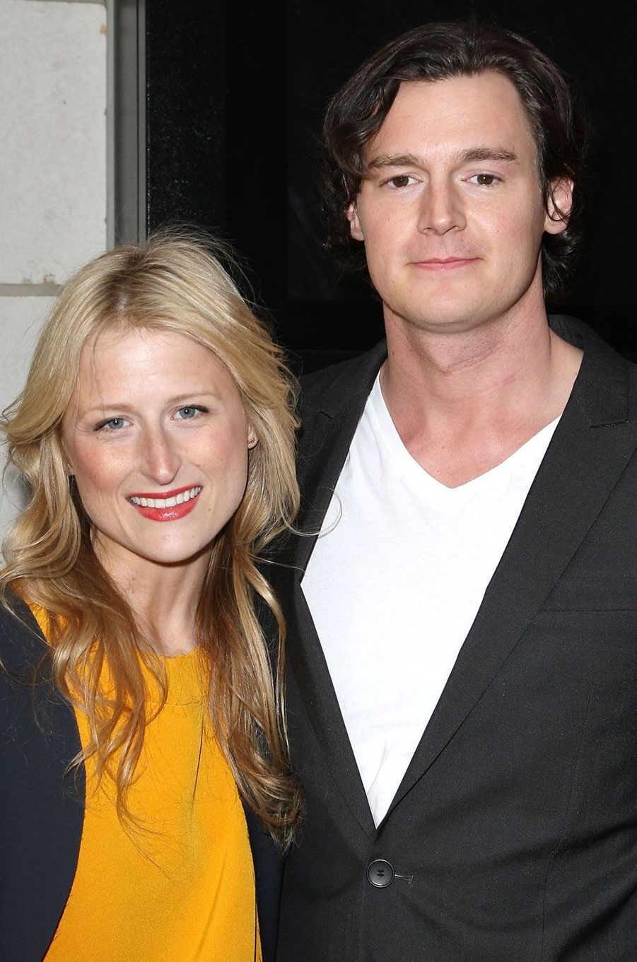 Mamie Gummer et son ex-mari Benjamin Walker en 2012.
