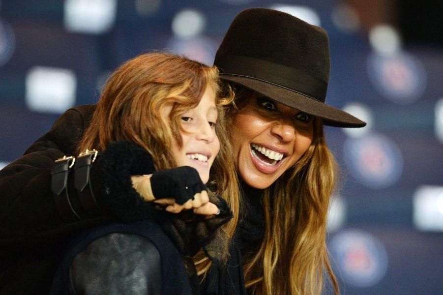 Tim Elvis Guetta et sa mère Cathy en 2014.